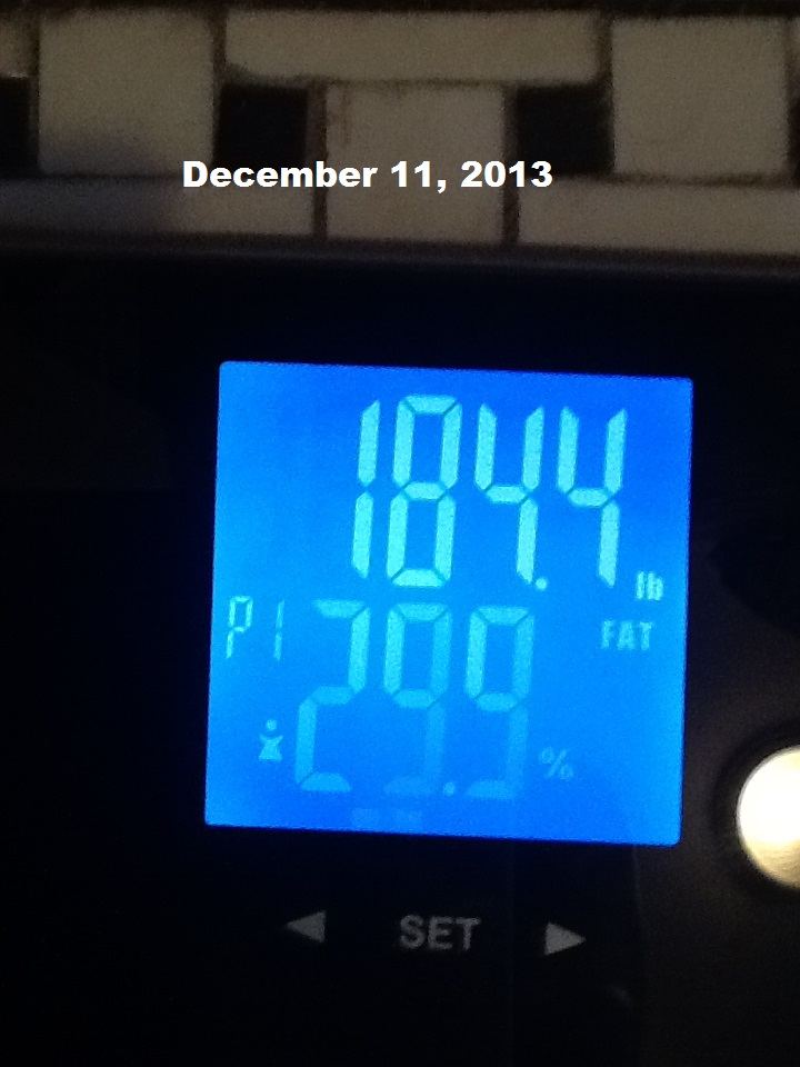 December 11 2013 Weigh In