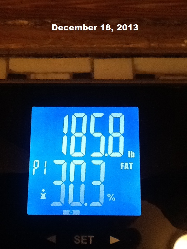 December 18 2013 weigh in